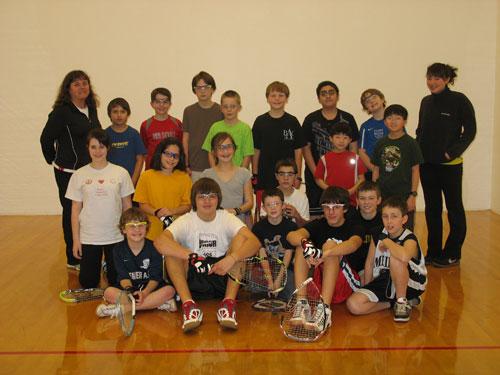 BAC Junior Racquetball
