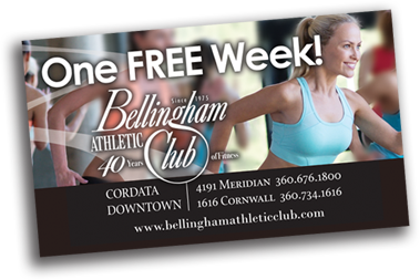Bellingham Athletic Club One Week Free Pass
